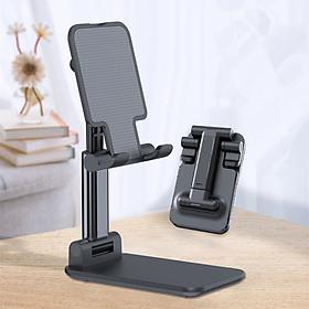 Giá đỡ điện thoại để bàn gấp Điện thoại di động Giá đỡ bàn cho iPhone ipad pro mini Samsung Xiaomi Tablet Đứng tăng và giảm Giá đỡ có thể điều chỉnh
