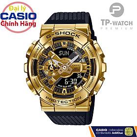 Đồng Hồ Nam Casio G-Shock GM-110G-1A9DR Chính Hãng | G-Shock GM-110G-1A9DR Gold Metal Dây Nhựa