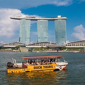 Vé Tham Quan Singapore Bằng Xe Ducky Wacky