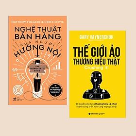 Combo Sách Marketing: Nghệ Thuật Bán Hàng Của Người Hướng Nội + Thế Giới Ảo, Thương Hiệu Thật - (Cuốn Sách Truyền Cảm Hứng / Tạo Động Lực)