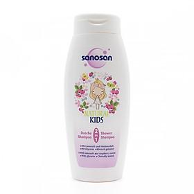 Sữa tắm gội dưỡng ẩm hương Dâu rừng Sanosan 250ml