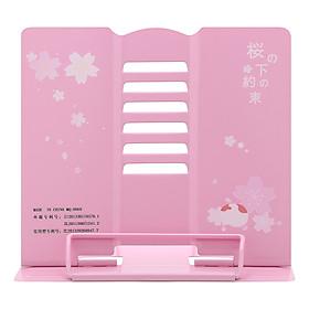 Giá Kẹp Sách, Đỡ Sách, Đọc Sách Chống Cận - The Sakura - Màu Hồng