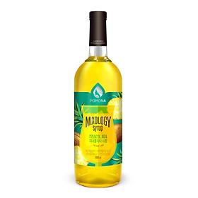 Sirô Cocktail Pina Colada Pomona - Pomona Pina Colada Mixology Syrup (1000ml)