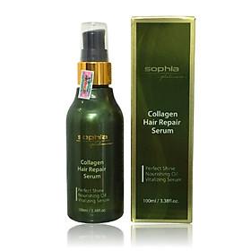 Tinh dầu dưỡng tóc Sophia Platinum collagen hair repair Serum 100ml