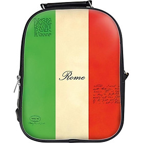 Balo Unisex In Hình Rome - BLVT004