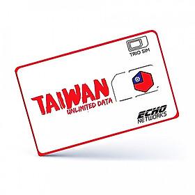 Sim Du Lịch Đài Loan Tốc Độ Cao 4G Không Giới Hạn Trong 5 Ngày