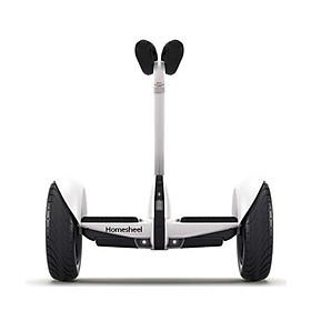 Xe điện thể thao cân bằng Homesheel Mini Pro-hàng chính hãng-màu trắng