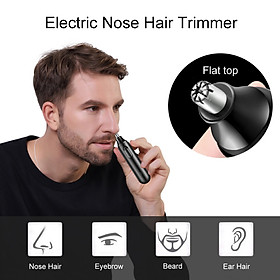 Electric Nose Hair Trimmer Ear Face Hair Removal Shaver Clipper Painless Trimming Waterproof  Low Noise Face Care Tool