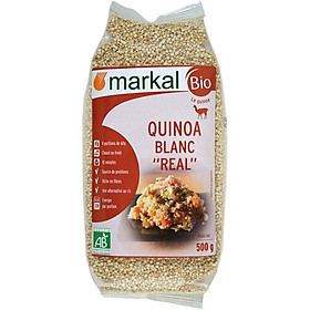 Hạt diêm mạch quinoa trắng hữu cơ Markal 500g