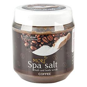 Muối Tắm Spa Mori Cà Phê Mori Spa Salt - Coffee (700ml)
