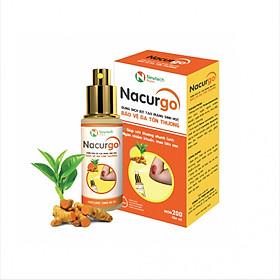 Nacurgo - Dung dịch xịt bảo vệ da
