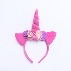 Bờm sừng ngựa Pony hồng cho bé chơi Trung thu, Halloween