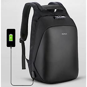 """Ba lô nam thời trang đa năng tích hợp chế độ chống trộm cao cấp + sạc USB tiện dụng và siêu chống thấm nước(15,6"""")"""
