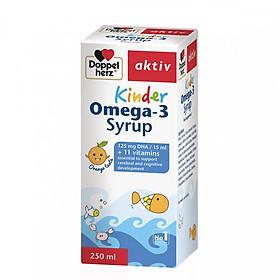 Siro bổ sung Omega 3 DHA cho bé Doppelherz Kinder Omega 3 Syrup