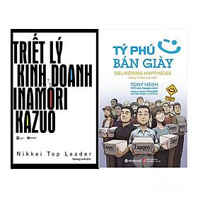 Combo Triết Lý Kinh Doanh Của Inamori Kazuo + Tỷ Phú Bán Giày (Tái Bản 2018)