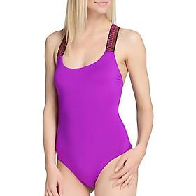 Bộ Bơi Liền Mảnh Viviane Swimsuit With Detail SW0917_01 - Tím