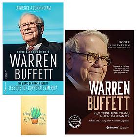 Combo Warren Buffett - Quá Trình Hình Thành Một Nhà Tư Bản Mỹ và Những Bài Học Đầu Tư Từ Warren Buffett( Kèm Sổ Tay)