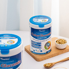 Sữa bột Colos Glucomin Diabest Care Vinanutrifood chứa các dưỡng chất bổ sung sắt, canxi, whey protein nâng cao đề kháng, thanh lọc cơ thể dành cho người trung tuổi và người già
