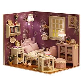Mô Hình Tự Lắp Ráp Phòng Ngủ Mini