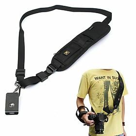 Quick Strap Camera Single Shoulder Belt Sling for SLR DSLR Cameras Canon Sony Nikon