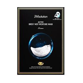 Mặt Nạ Tổ Yến Dưỡng Ẩm, Phục Hôi Da JM Solution Active Bird's Nest Moisture Mask Prime 30ml