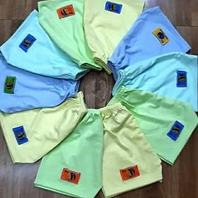 COMBO 10 chiếc quần đùi cotton CHO BÉ thấm hút mồ hôi. Chất liệu vải cao cấp mềm mại, không ra màu khi giặt, an toàn cho làn da nhạy cảm của bé.