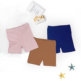 quần legging đùi cotton cho bé gái mặc mùa hè siêu mát, siêu xinh (7-18kg)
