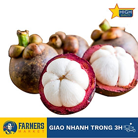 [Chỉ Giao HCM] - Măng cụt bi Thái Lan (1Kg) - Có vỏ ngoài màu đỏ, cơm trắng đục, vị ngọt đậm xen chút chua nhẹ đặc trưng