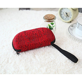 Sunglasses Box Portable Glasses Protector Case Hard Zipper Glasses Box