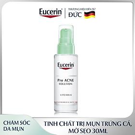 Tinh Chất Dưỡng Giảm Mụn, Mờ Sẹo Eucerin Pro Acne Super Serum 30ml