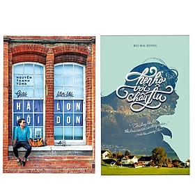 Combo 2 cuốn sách văn học hay: Hẹn Hò Với Châu Âu + Giai Hà Nội Lặn Lội London ( Tặng kèm Bookmark Thiết Kế)