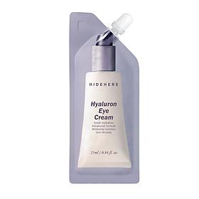 Kem dưỡng mắt giảm quầng thâm và giảm nhăn da Hidehere Hyaluron Eye Cream 25ml