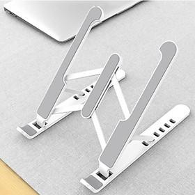 Đế nhựa cao cấp hỗ trợ tản nhiệt cho Laptop, Macbook gồm 7 mức điều chỉnh độ nghiêng tùy ý (có thể gập gọn thông minh)- Hàng Chính Hãng- US01