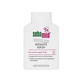 Dung Dịch Vệ Sinh Phụ Nữ Hằng Ngày Kháng Khuẩn, Ngừa Viêm Nhiễm, Ngăn Viêm Nhiễm Phụ Khoa Sebamed Sensitive Skin Intimate Wash PH3.8 Từ Đức Chai 200Ml