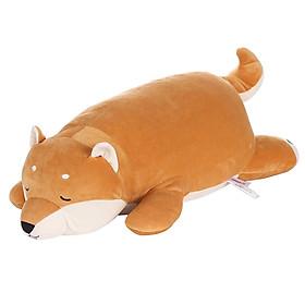 Chó Shiba nhồi bông Miniso 28x25x75cm (Nâu) - Hàng chính hãng