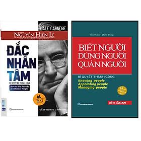ombo Biết Người, Dùng Người, Quản Người (Bìa Cứng)+Đắc Nhân Tâm - Bản Dịch Gốc Từ Nguyễn Hiến Lê