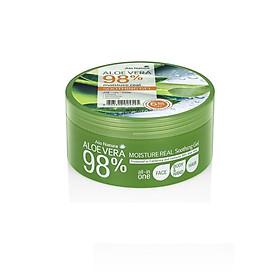 Gel làm mát dạng hũ Alo Natura Aloevera Soothing Gel 300ml