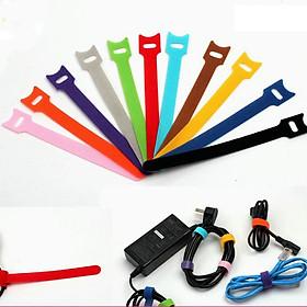 10 sợi dây dán quấn cáp và dây điện dài 20cm - Hàng nhập khẩu
