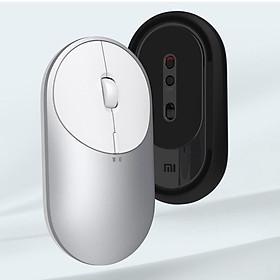 Chuột di động Xiaomi Mi 2 4-DPI 4000 2400 1800 1200 Bluetooth RF2.4 Nhôm kim loại ABS Windows 10 Android Mac