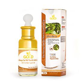 Dầu Massage Gold Tan Mỡ Thon Eo Tạo Đàn Hồi Da 50ml