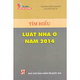 Sách Tìm Hiểu Luật Nhà Ở Năm 2014