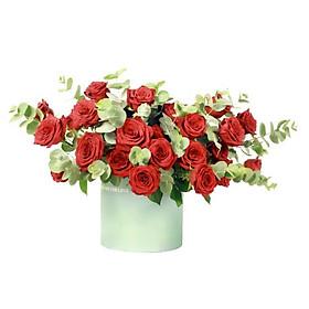 Hộp hoa tươi - Lãng Mạn Và Nồng Nhiệt 3966