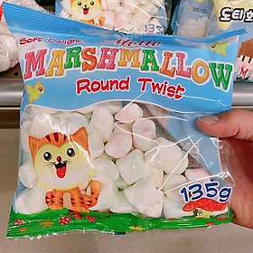 MELLO marshmallow Round Twist 135g
