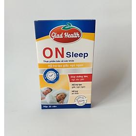 Viên uống hỗ trợ điều trị tận gốc bệnh mất ngủ ON SLEEP