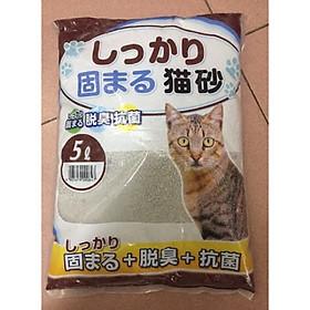 Cát Nhật vệ sinh cho mèo 5 lít