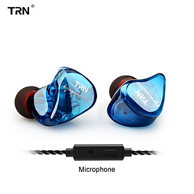 Headset Earbuds In-Ear Monitors Sweatproof Crystal Clear Detachable Cable