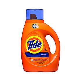 Nước giặt Tide Original Sạch Vượt Trội dạng bình 1.4L