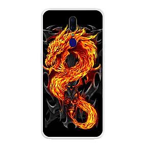 Ốp lưng dẻo cho điện thoại Oppo F11 - 0218 FIREDRAGON - Hàng Chính Hãng