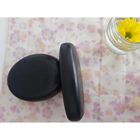 Combo sản phẩm đá matxa tròn và ovan Bazan chính hiệu
