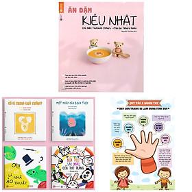 Combo Sách Nuôi Con & Truyện Ehon Nhật Bản 0 - 3 Tuổi: Ăn Dặm Kiểu Nhật + Ehon Sự Kỳ Diệu Của Màu Sắcu (Sách phát triển trí tuệ cho bé + sách dinh dưỡng ăn dặm)